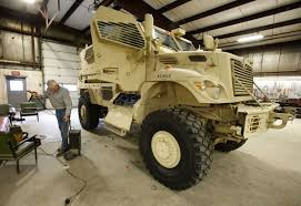 Police Department Adds Armored Vehicle From Military Surplus | Local ... Dirt Every Day Extra Season 2017 Episode 183 How To Buy A Surplus Military Vehicles Outfitted For Offroad Motorhome Rv Trucks For Sales Sale Want See 6x6 Truck Crush An Old Buick We Thought So An Iowa City With A Population Of 7000 Will Receive Armored Cariboo Okosh Army Kosh Truck Zombie Apocalypse Pinterest Army Stock Image Image Of Transportation 1030097 Witham Tender Auction Tanks Afvs Just Got R2 Crash Archive Steel Soldiersmilitary Your First Choice Russian And Uk Yes You Can Mrap Vehicle On Ebay