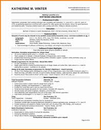 Sample Resume For 2 Years Experienced Software Engineer Best Templates Format It
