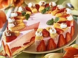 photo de recette gâteau aux fraises et au yaourt marmiton