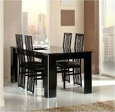Italian Lacquer Furniture Marvelous Dining Room Wonderful Modern Tables Black Table