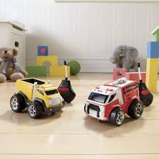 Set Of 2 Soft-N-Chubby Remote Control Trucks | Swiss Colony