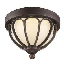 flush mounted brown outdoor ceiling lighting outdoor