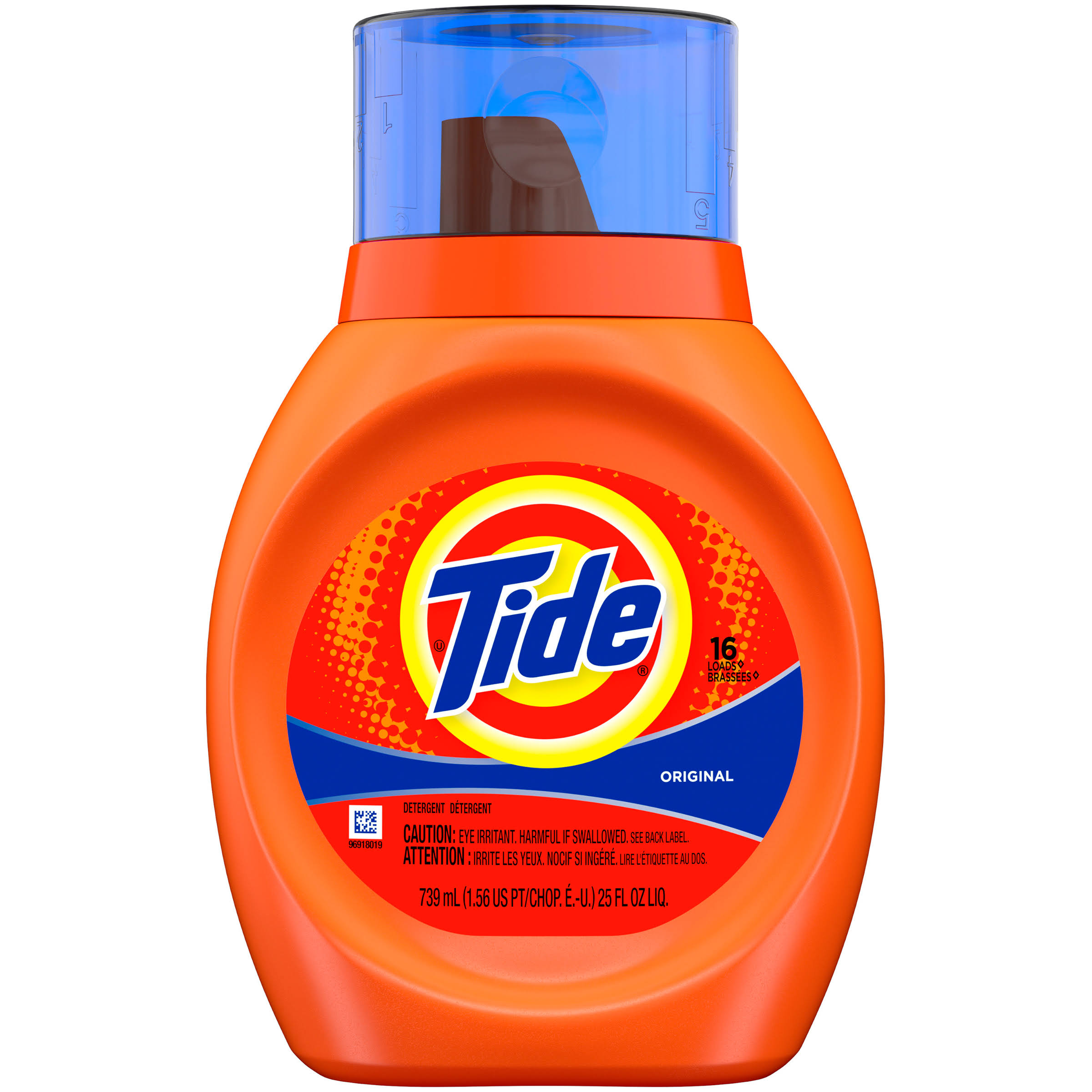 Tide Liquid Laundry Detergent - Original Scent , 739ml