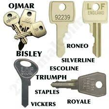 Staples File Cabinet Replacement Keys by Filing Cabinet Key Ebay