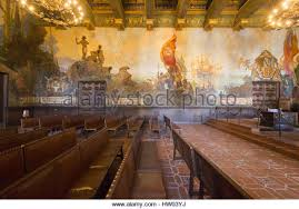 Santa Barbara Courthouse Mural Room by California Murals Stock Photos U0026 California Murals Stock Images