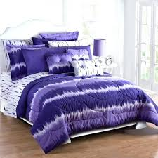 Purple Bed Sets Twin forter And Grey Cotton Queen Full Size