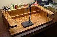 Fly Tying Table Woodworking Plans by Some Ideas For Wood Working
