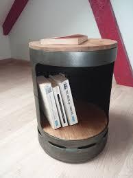 rangement bouteille de gaz tabouret meuble d appoint en bouteille de gaz recyclée diy