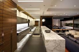 cuisine lounge cuisines cuisine moderne salon lounge marbre poutre filtre