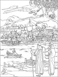 Timothy Bible Coloring Pages Sketch Template See More