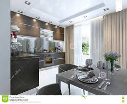 100 In Marble Walls Kitchen Contemporary Brown With White And Floors