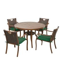 Urbanna Wicker Dining Table And Chairs Set With Cushions | PlowHearth Urban Lifestyle Fniture And Decor Jardin De Ville Set Of Two Foldable Colourful Bistro Chairs Fast Forest Outdoor White Side Chair Site Furnishings Sets Best Outdoor 12 Affordable Patio Ding To Buy Now Marcius Single Seat Velvet Accent Dark Green Faux Rattan Lounge Set In Forest Green Ideal For A Discover Haworths Janus Et Cie Brand Table Veranda Small House Stock Photo Ben44 213229368 Rattan Garden Where It The Telegraph Mainstays Hills 3pc Chat Teal