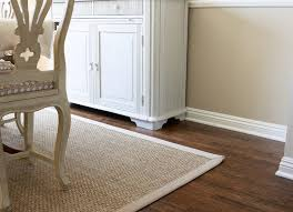 Seagrass Rugs Dining Room Close Up Floors