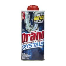 Drano Wont Unclog Kitchen Sink by Drano Kitchen Crystals Clog Remover 18 Ounces Walmart Com