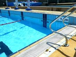 Olympic Pool Dimensions Size Depth Swimming Fina