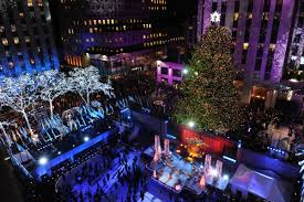 Rockefeller Plaza Christmas Tree Lighting 2017 by Christmas Christmas Eve At Rockefeller Center In Nyc The