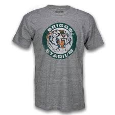 Briggs Stadium Roaring 50s Retro Fashion T Shirt