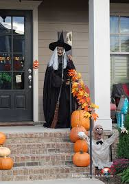 Halloween Witch Yard Stakes by Halloween Decorations Outdoor Halloween Lawn Decorations