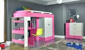 bureau pour mezzanine lit mezzanine fille avec bureau lit superpose pour fille lit fille