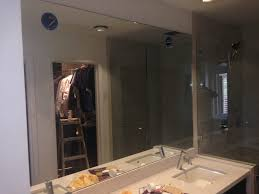 Vanity Table With Lights Around Mirror by Custom Vanity Mirror And Frameless Enclosure Patriot Glass And