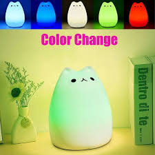 La Tee Da Lamps Instructions by Rechargeable Color Changeable Silicone Led Sensitive Tap Control