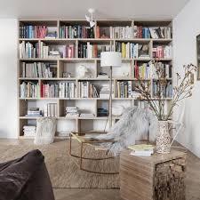 bibliothek zu hause einrichten schöner wohnen