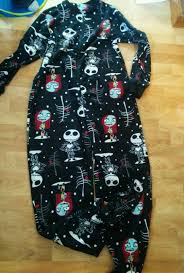 Nightmare Before Xmas Tree Skirt by Disney Nightmare Before Christmas Footed Pajamas Ebay