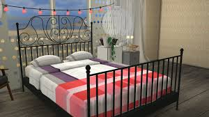 leirvik bed frame sims 4 cc s the best ikea leirvik bed frame and hay bed linen
