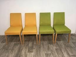 esszimmer stuhl küchenstuhl musterring midcentury style grau