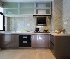 countertops backsplash chevron marble pattern granite kitchen