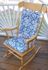 100 Jumbo Rocking Chair Indoor Cushions 16 Cushion 100 Percent Cotton