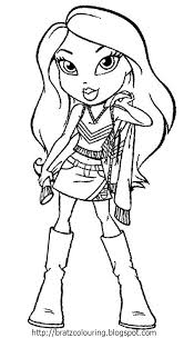 Bratz Coloring Pages Collections