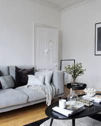 ikea nockeby two seater sofa in black white talmyra