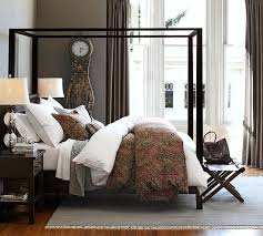 Pottery Barn Bedroom Furniture Cynthia Upholstered Storage Bed