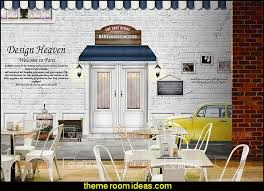 Paris Themed Living Room Decor by Decorating Theme Bedrooms Maries Manor French Cafe Paris Bistro