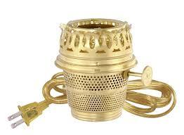 aladdin l style electric converter brass heel less 30462