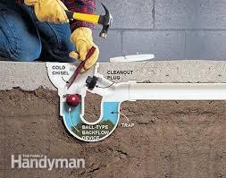 astounding ideas sewer smell in basement elegant floor drain how
