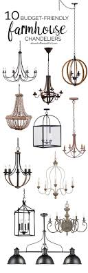 budget friendly farmhouse chandeliers farmhouse chandelier