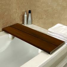bathroom tray for bathtub bathtub shelf tub caddy teak