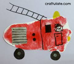 Fire And Trucks For Toddlers On Transportation Crafts For Kids ...