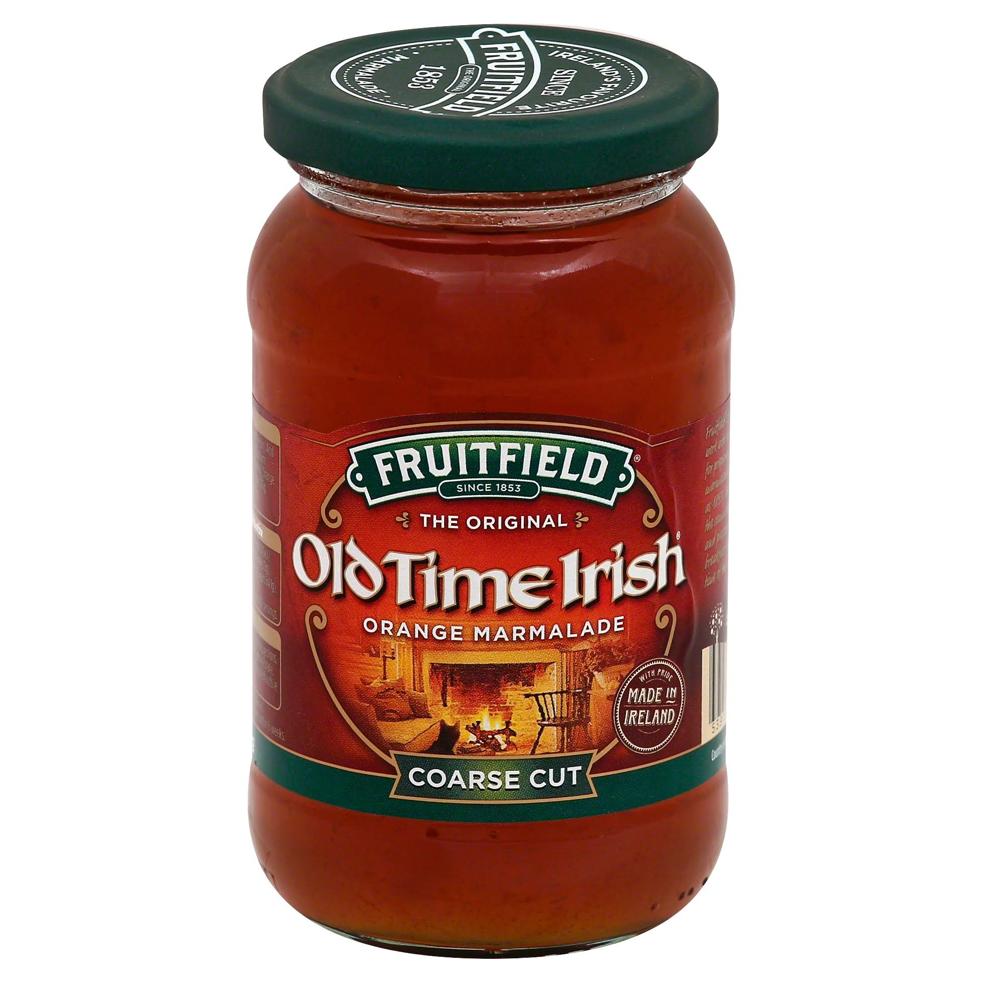 Fruitfield Old Time Irish Marmalade, Orange, Coarse Cut - 454 g