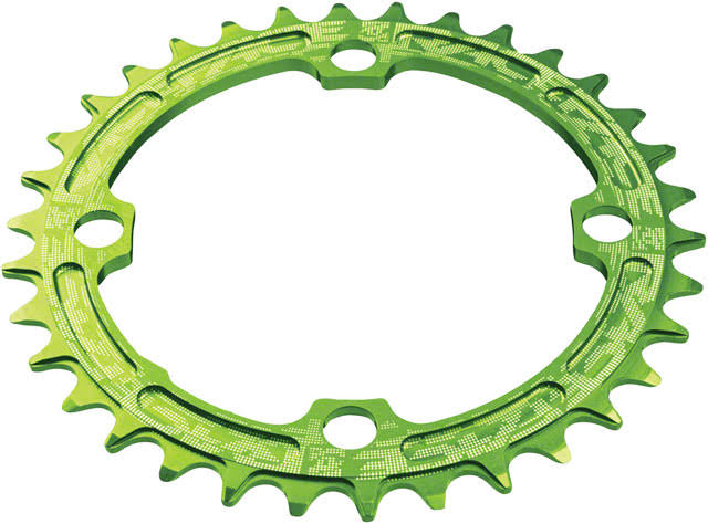 Race Face Single Chain Ring - Green, 104mm, 30T, 9/10/11 Speed