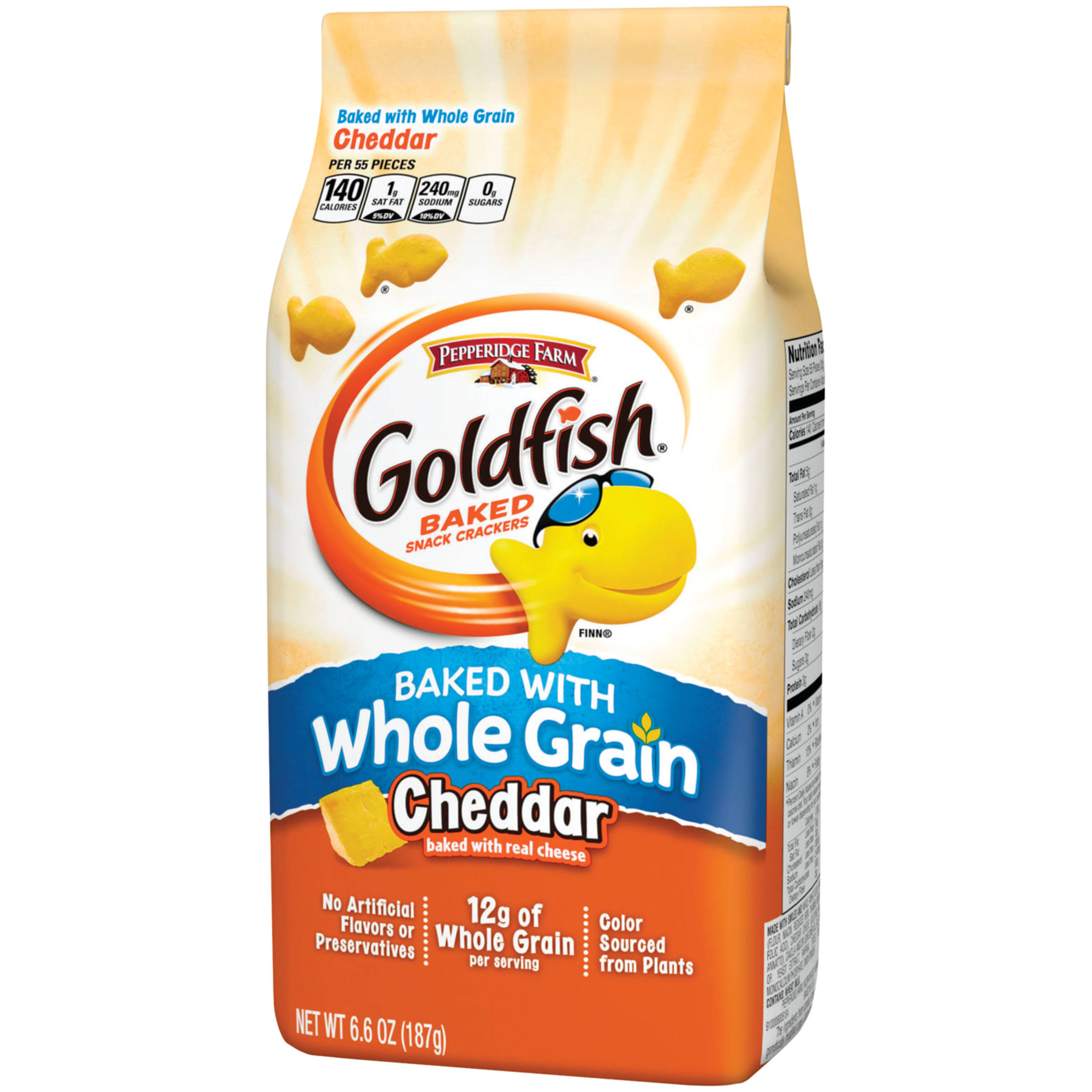 Pepperidge Farm Goldfish Whole Grain Cheddar - 6.6oz