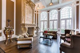 Photo Gallery Of The Gothic Living Room Design