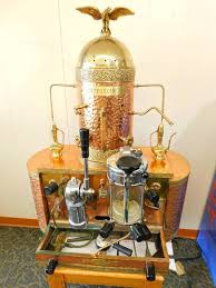 Vintage Copper And Brass Cappuccino Machine