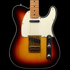 Fender Custom Shop 1960 Relic Telecaster With Flame Maple Neck Three Colour Sunburst Pre