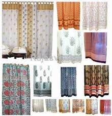 Chiffon Curtains Online India by Ethnic Curtain Ideas Decorate The House With Beautiful Curtains
