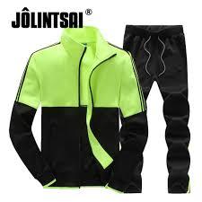 online shop jolintsai 2017 plus size sportswear men leisure