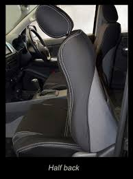 Volkswagen Amarok Waterproof Neoprene Seat Covers - FRONT Pair ...