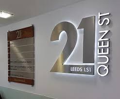 fice Signs Leeds London
